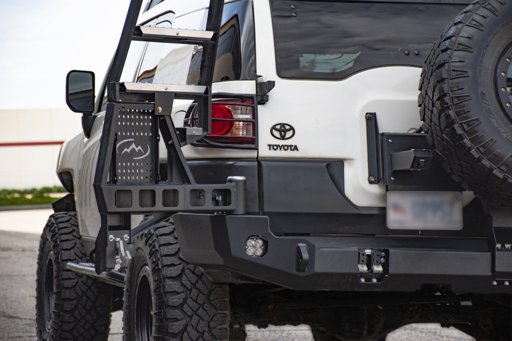 fj rear cruiser bumper bumpers options swing expedition pricing list july wish