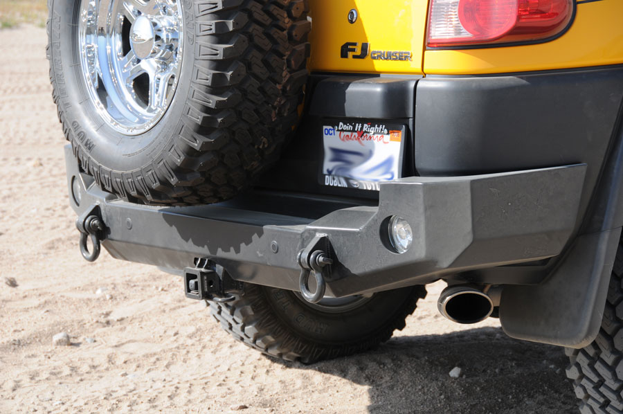 FJ Cruiser Rear Bumpers  Expedition One