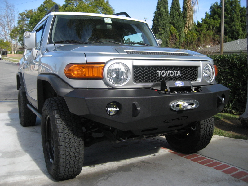 Fj Cruiser Winch Bumper : Fj cruiser front bumpers expedition one
