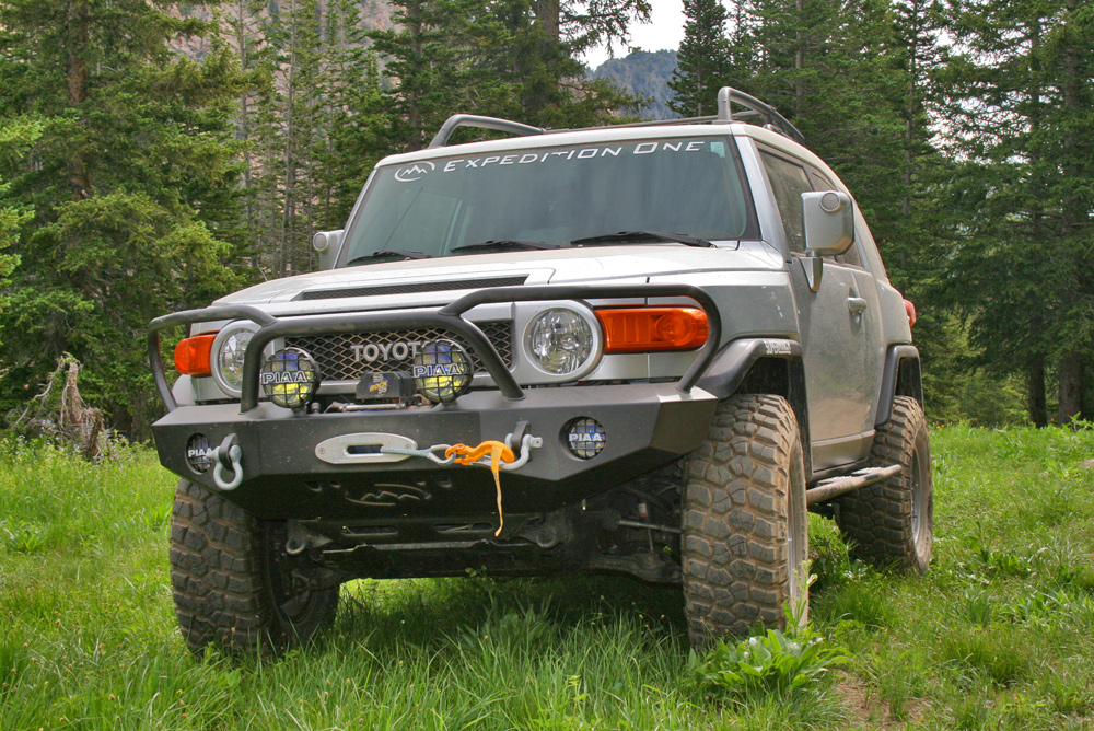 FJ Cruiser Front Bumpers  Expedition One