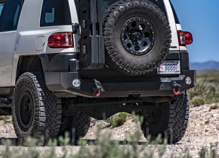 fj cruiser rear bumpers expedition