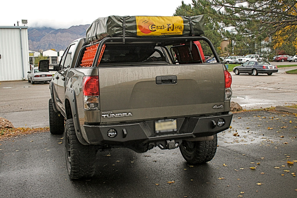 Tundra 2007 2013 Rear Bumper Expedition One