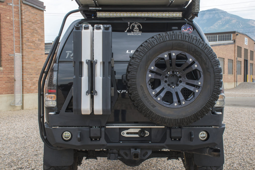 Tundra 2007 Rear Bumper Expedition One
