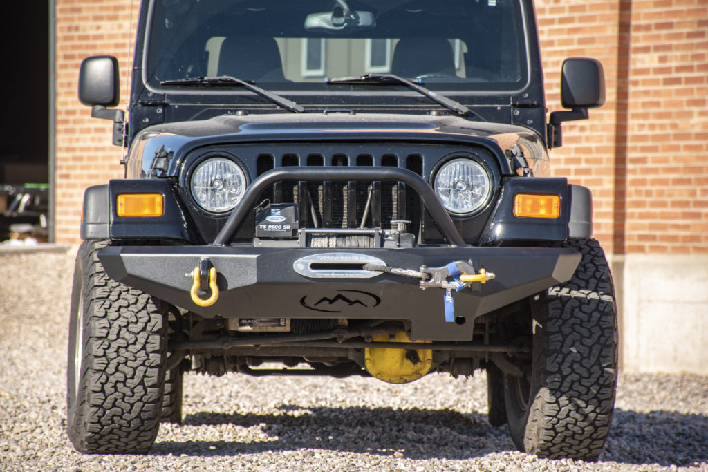 Jeep Tj Wrangler Front Bumpers Expedition One