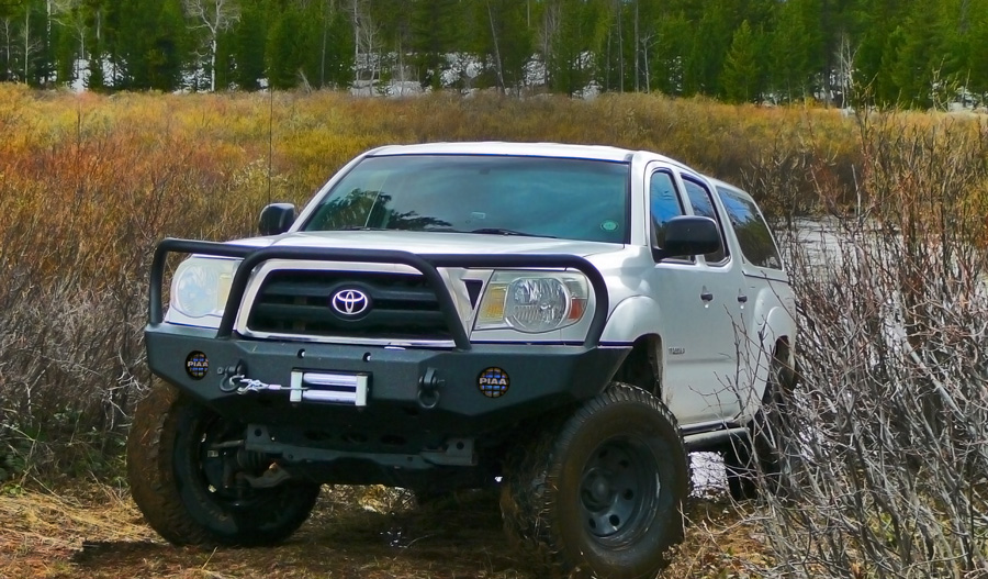 Toyota Tacoma Front Bumpers  Expedition One