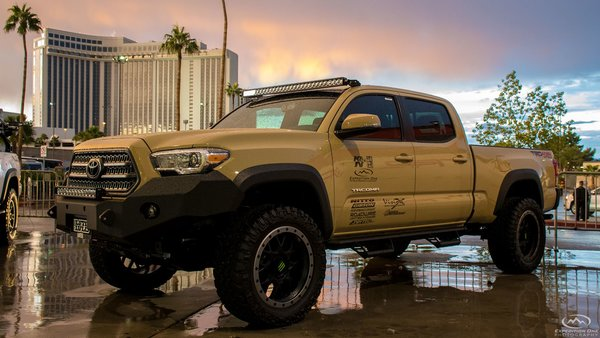 Toyota Tacoma 2016 Bumpers Expedition One