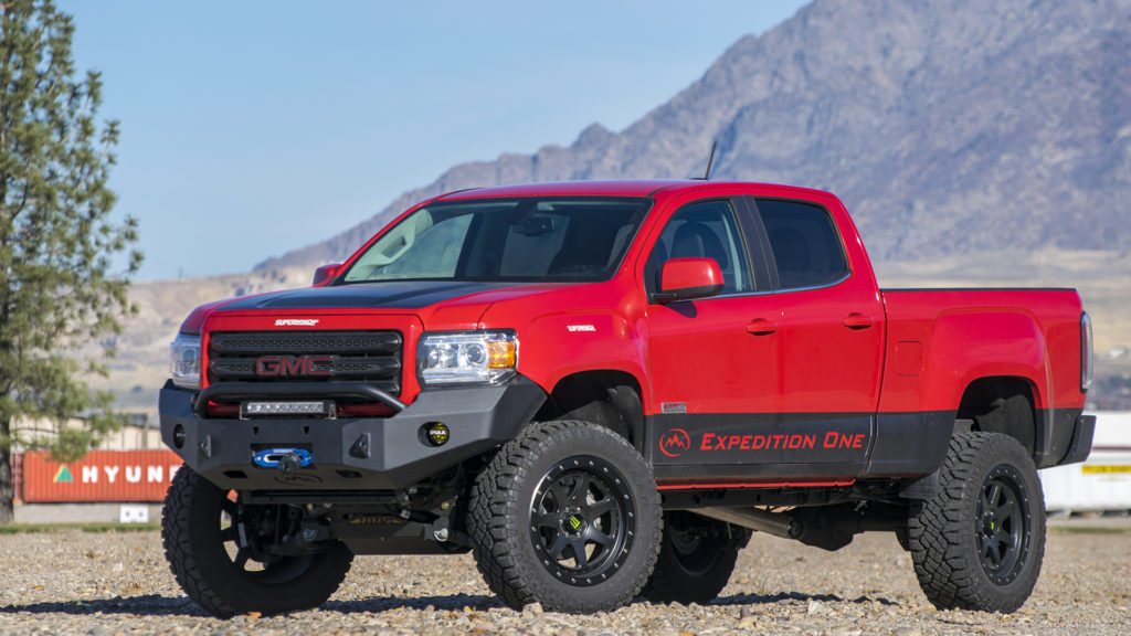 Gmc Canyon 2015 Front Bumpers Expedition One