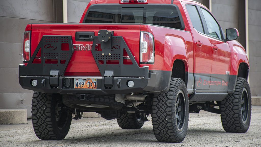 Gmc Canyon 2015 Rear Bumpers Expedition One